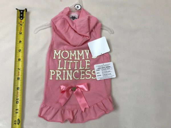 Hoodie Dog Apparel Mommy's Little Princess by Smoochie Pooch
