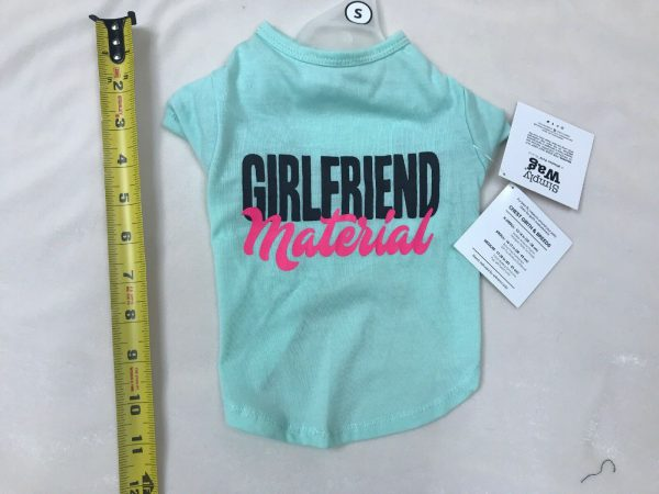 Tee Shirt Dog Girlfriend Material by Simply Wag