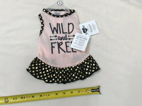 Smoochie Pooch Pretty in Pink Wild and Free Dog Dress by Smoochie Pooch
