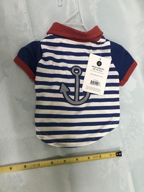 ED Ellen Degeneres Love Sailor Dog T-Shirt Apparel