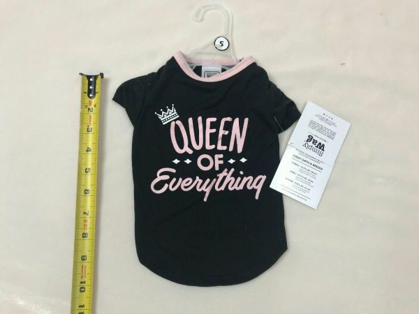 Tee Shirt Dog Apparel Queen of Everything by Simply Wag